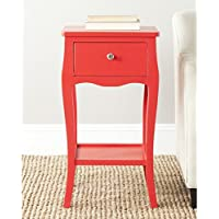 Safavieh American Homes Collection Thelma Hot Red End Table
