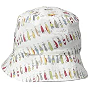 Mud Pie Baby Toddler Boys' Bucket Sun Hat, Fish Reversible, 2T-5Toddler