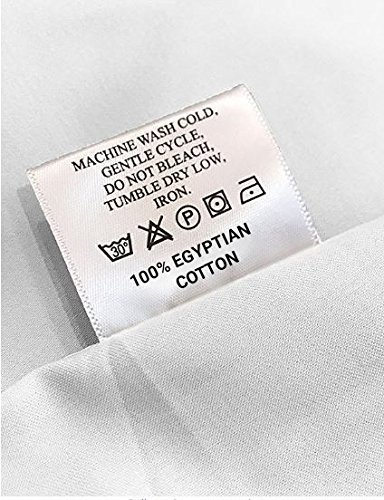 Mayfair Linen Hotel Collection 100% Egyptian Cotton - 500 Thread Count 4 Piece Sheet Set- Color White,Size King by Mayfair Linen (Image #6)