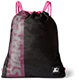 Starter String Backpack, Prime Exclusive, Black/Power Pink, One Size