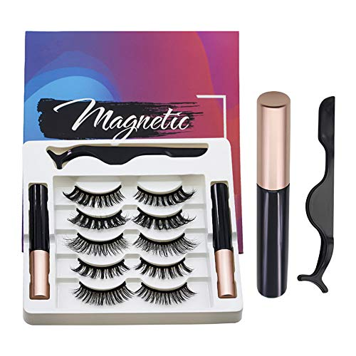 Cinlitek Magnetic Eyelashes With Eyeliner