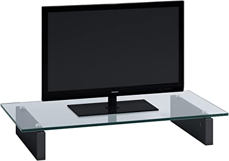 Jahnke Z-GA - Soporte para televisor (LCD TV, 12.3 cm, 800 x 123 x 420 mm, 420 mm, 123 mm, 800 mm) Transparente: Amazon.es: Hogar