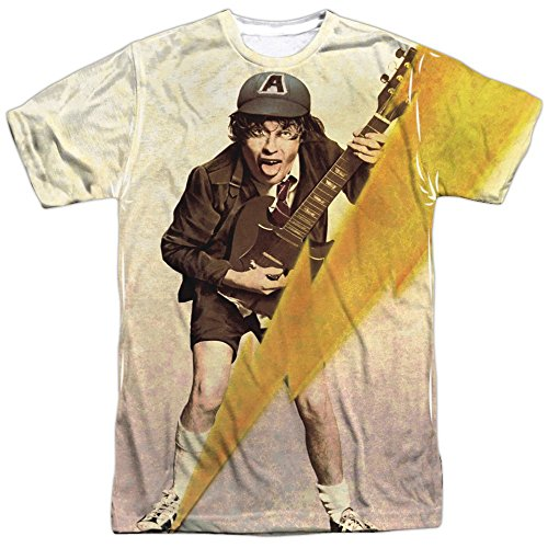 AC/DC - High Voltage 2 - All-Over Front Print Adult T-Shirt - 3XL