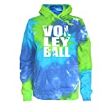 Varsity Girl Volleyball Tie Dye Sweatshirt - Volleyball Players Logo
