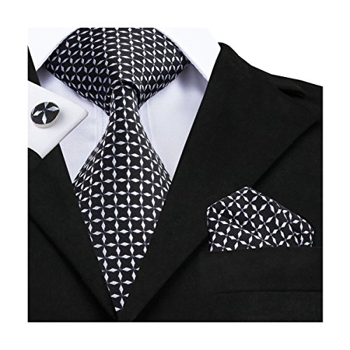 Hi Tie Fashion Striped Paisly Cufflinks product image