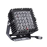 SXMA 9 Inch Square Led Driving Light 360W 28800LM Front Bumper Grille Guards Spotlights for Offroad Jeep Wrangler JK TJ YJ Ford Toyota Pickup 4WD 4X4 ATV SUV Boat Truck Bulldozer Excavator Forklift