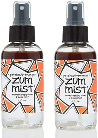 Indigo Wild: Zum Mist Patchouli Orange 4 Fl Oz Set of 2