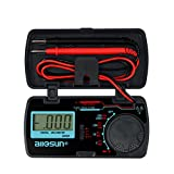 all-sun Digital Multimeter / DMM / Multi Tester Amp / Ohm / Volt Meter / Diode and Continuity Test Pocket Size