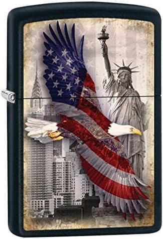 Zippo Custom Lighter Eagle Black product image