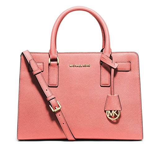 Michael Kors Leather Top Handle Satchel