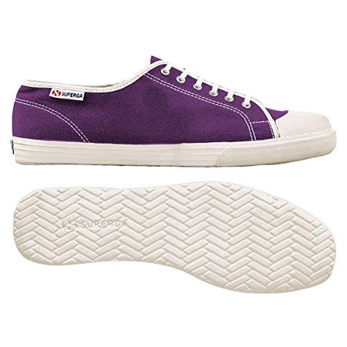 Superga 2560 Cotu - Zapatillas de lona para mujer Aubergine