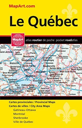 Quebec Province Pocket Map Atlas by MapArt Publishing Corp (2015-11-04)
