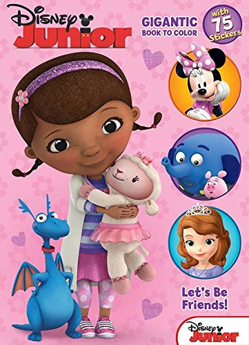 Bendon Disney Junior: Let's Be Friends Coloring and Activity Book, 224 Pages (10283) ()
