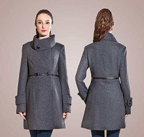Zareen by BC24 - Abrigo - para mujer gris