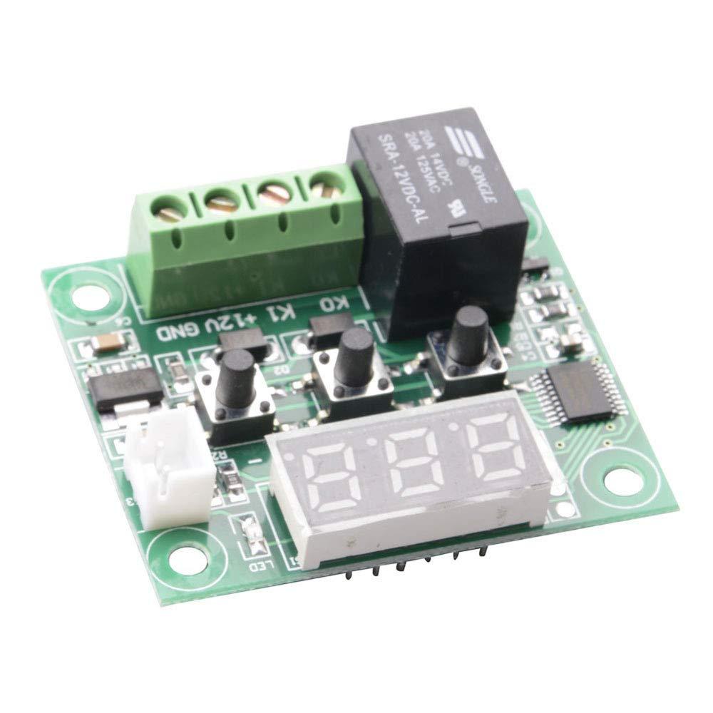 110 /°C con Sonda de Sensor Resistente Al Agua con Acrylic Case 50 ButDillon 12V W1209 Digital Termostatos M/ódulo Sensor Interruptor De Control De Temperatura