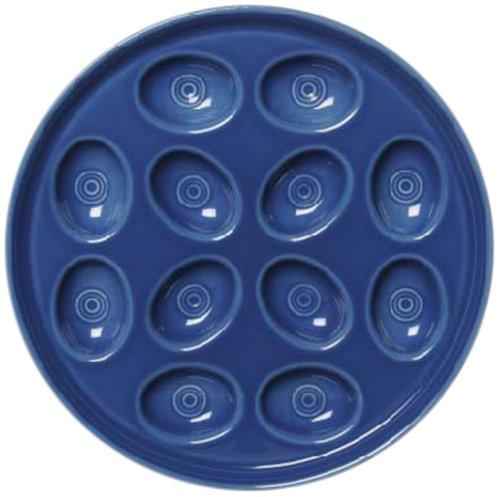 Fiesta Egg Tray, 11-Inch, Lapis