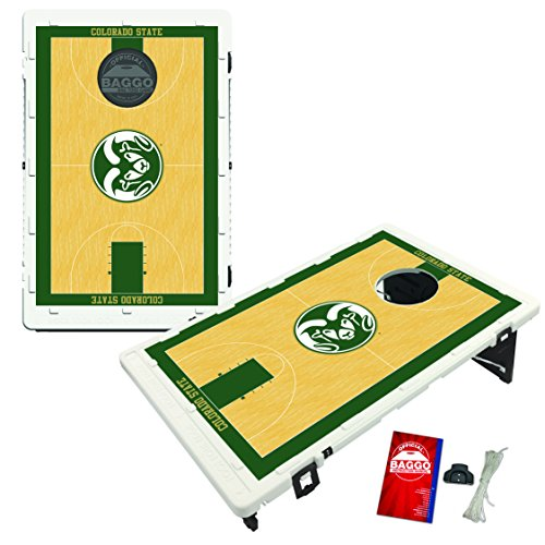 Colorado State Rams Baggo Bean Bag Toss Cornhole Game Homecourt Design by Victory Tailgate