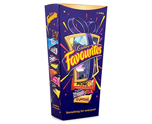 Cadbury Favourites Chocolate Gift Box (Made in Australia) (540g (1.2 lb)) -