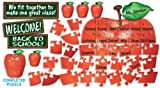 Scholastic Welcome! Apple Puzzle Bulletin Board (TF8001)