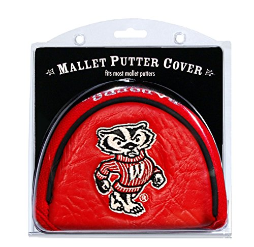 Team Golf NCAA Golf Club Mallet Putter Headcover, Fits Most Mallet Putters, Scotty Cameron, Daddy Long Legs, Taylormade, Odyssey, Titleist, Ping, -