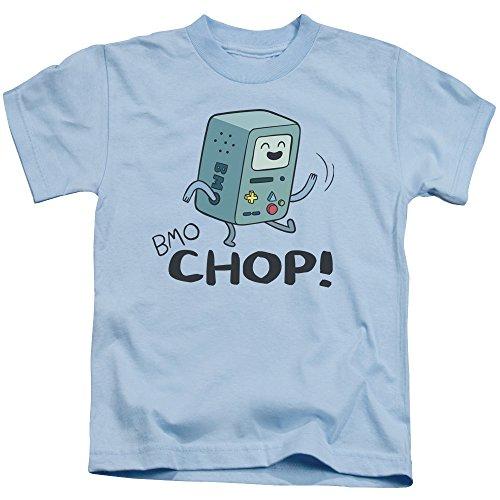 camiseta Claro Azul Adventure Bmo Chop Juvenil Time HfwqA