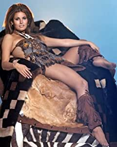 Amazon.com: RAQUEL WELCH Sexy Vintage In Fur 8x10 PHOTO: Photographs
