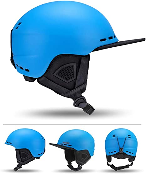Amazon.com: Youth Men Women Snow Sports Helmet Adultski Helmet Snowboard  Helmet,Shockproof/Windproof Protective Gear for Skiing, Snowboarding,  Motorcycle Cycling and Snowmobile,Blue,L: Home & Kitchen