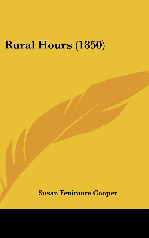 Rural Hours (1850) PDF
