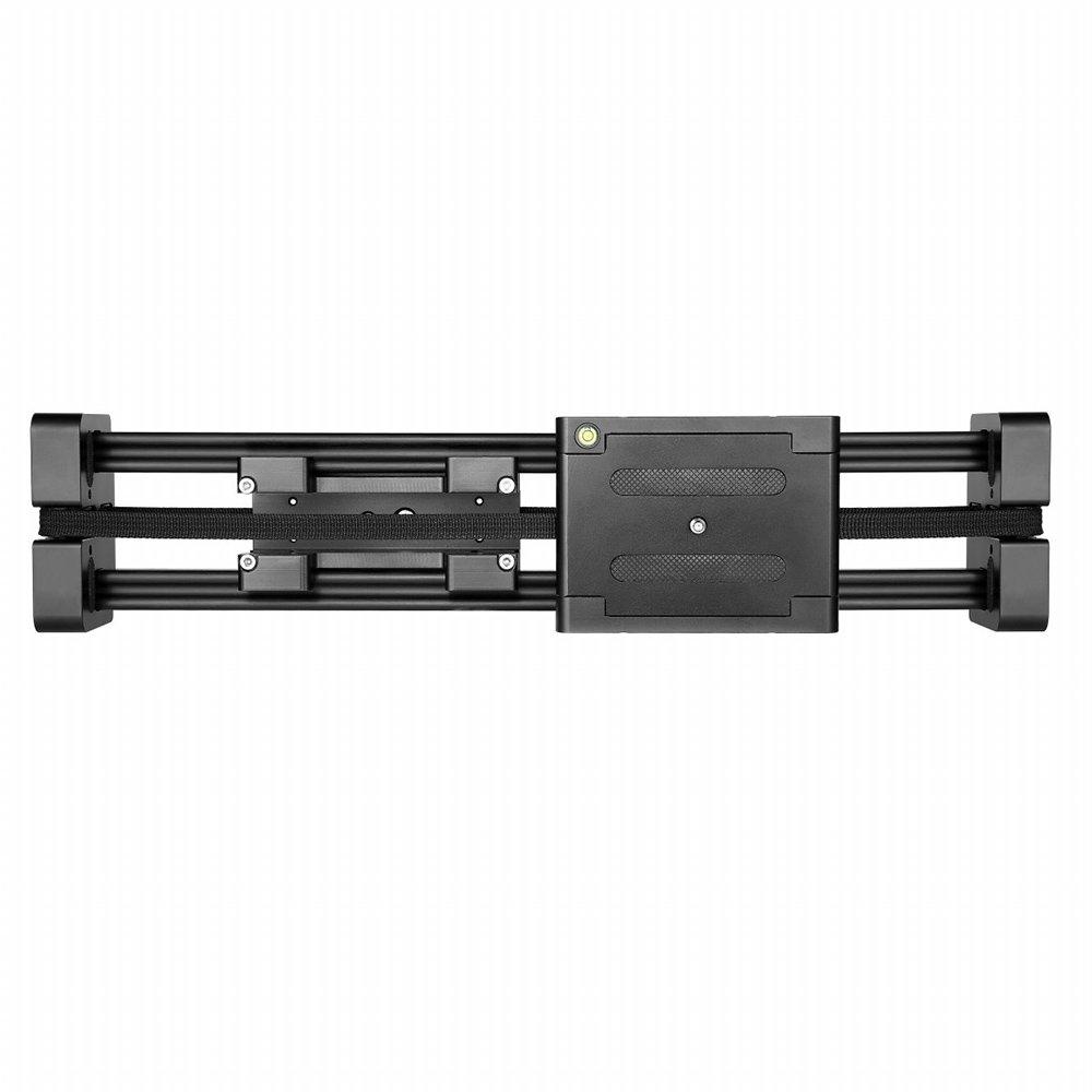 ビデオ安定化システム ブ Andoer® FT-40 コンパクト 伸縮可能 ビデオスライダー 40cm ドリートラック スタビライザー 80cm実際の滑り距離 8キロまでの耐荷 Canon Nikon Sonyデジタル一眼レフカメラ用 ラック  FT-40 B01BWM9AAK