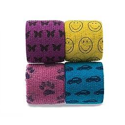 Kid Pack FlexBan Cohesive Easy Tear Bandages 2\