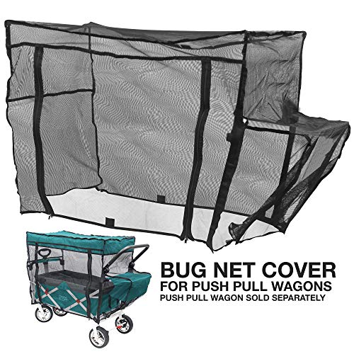 - Creative Outdoor Push Pull Folding Wagon Bug NET
