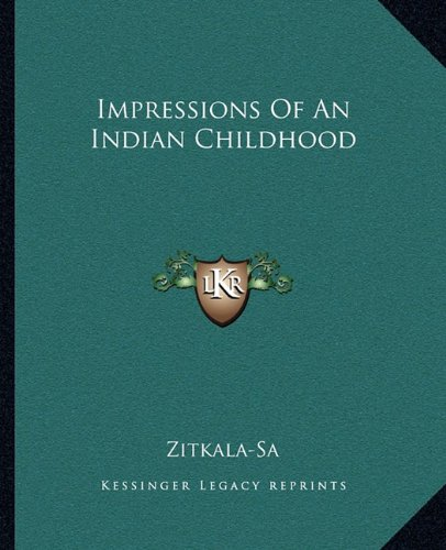 Download Impressions Of An Indian Childhood PDF