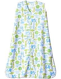 SleepSack Micro-Fleece Wearable Blanket, Blue Jungle, Medium