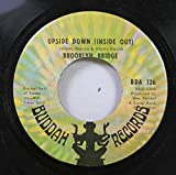 Brooklyn Bridge 45 RPM UPSIDE DOWN (INSIDE OUT) / YOUR HUSBAND - MY WIFE