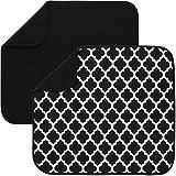 S&T INC. Absorbent, Reversible Microfiber Dish