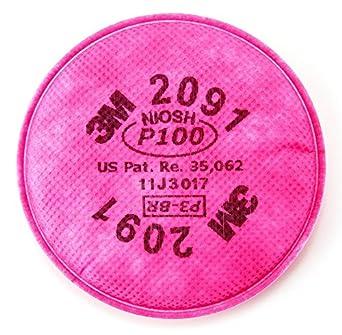 3 M Respirador Filtros – P100 P100 filtro disco para 3 M la mitad de la