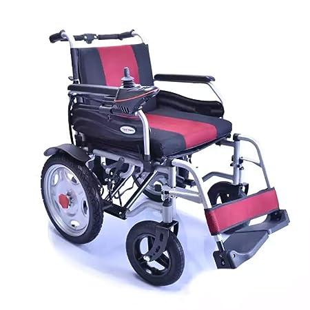 Unbekannt Andador eléctrico Plegable para discapacitados, Patinete ...