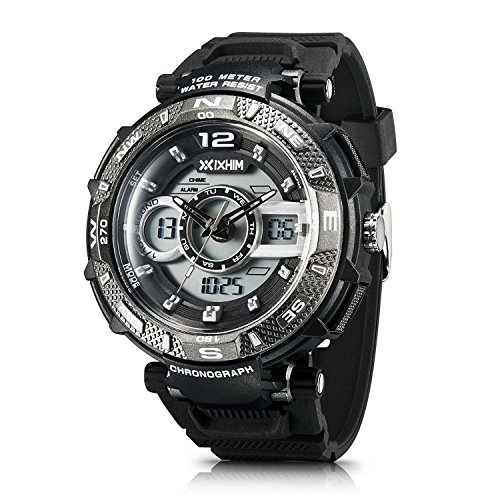 Men's Sport Watch Chronograph #A2801 by IXHIM – Multifunc...