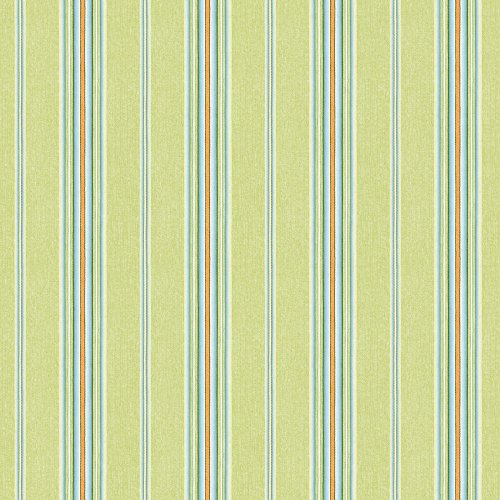 - Chesapeake HAS491012 Kylie Green Cabin Stripe Wallpaper