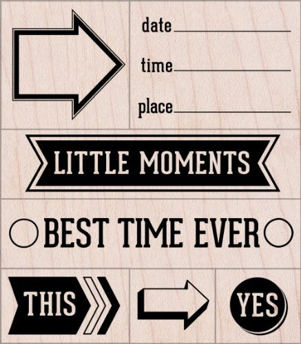 Hero Arts Little Moments Woodblock Stamp Set by Hero Arts