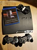 Playstation 3 slim 160gb console with 2 controllers