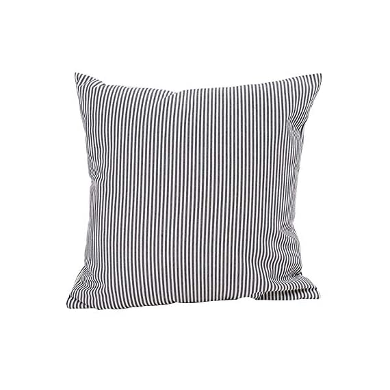 HOPLEE Outdoor Pillow Covers 20x20 Black and White Pillow Covers Buffalo Plaid Stripe and Gingham Design Set of 4 - 1.Black Throw Pillow Covers Size: 20x20 inch / 50x50cm(1-2cm deviation).This set comes with 4 pieces pillow covers,NO PILLOW INSERTS INCLUDED. 2.This set decorative pillow covers with 4 pieces black and white geometric pillow covers, the same on two sides. 3.20 x 20 pillow covers are matched with the invisible zipper. Disassemble freely, convenient to change. Help you decor your home more gorgeous with these farmhouse pillow covers. - patio, outdoor-throw-pillows, outdoor-decor - 51fHXXOXw2L. SS570  -