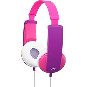 JVC HA-KD5-P-E Tinyphones Casque pour enfant Rose/Violet