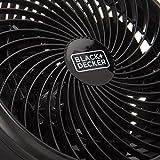 BLACK+DECKER Turbo Desk Fan – Electric Portable 7