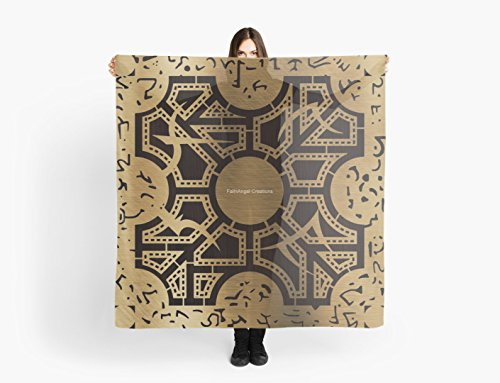 Hellraiser Lament Configuration Side D Multi-Purpose Scarf, Shawl, Wrap, Table Cloth ()