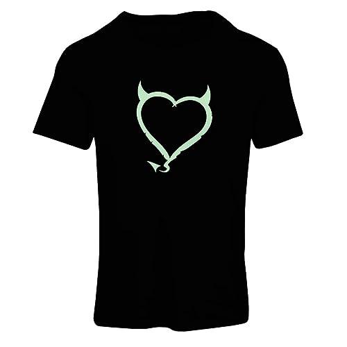Maglietta Donna Devil heart Funny Gift Colors/Sizes
