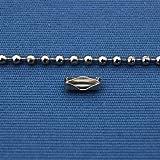Roller Blind Chain Chrome 2mm Gap (3 Meters)