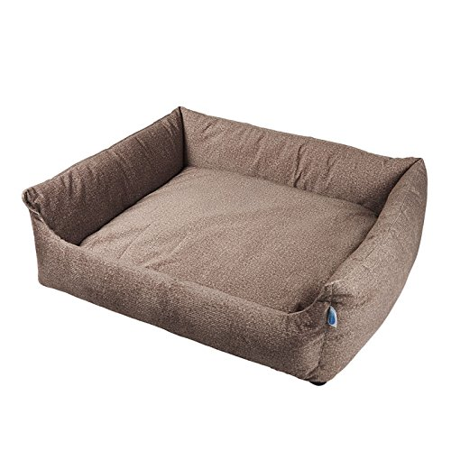 Cheap Messy Mutts Divine Bolster Dog Bed with EVERFRESH Probiotic Technology for Natural, Non-Toxic Odor Control, Large