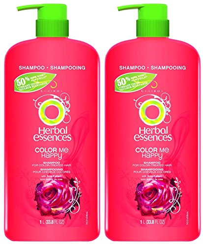 - Herbal Essences Color Me Happy Hair Shampoo for Color-Treated Hair with Pump - 33.8 oz - 2 pk