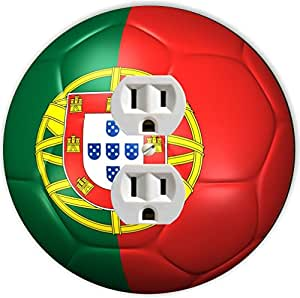 Rikki Caballero balón de fútbol de bandera de Portugal equipo Copa ...
